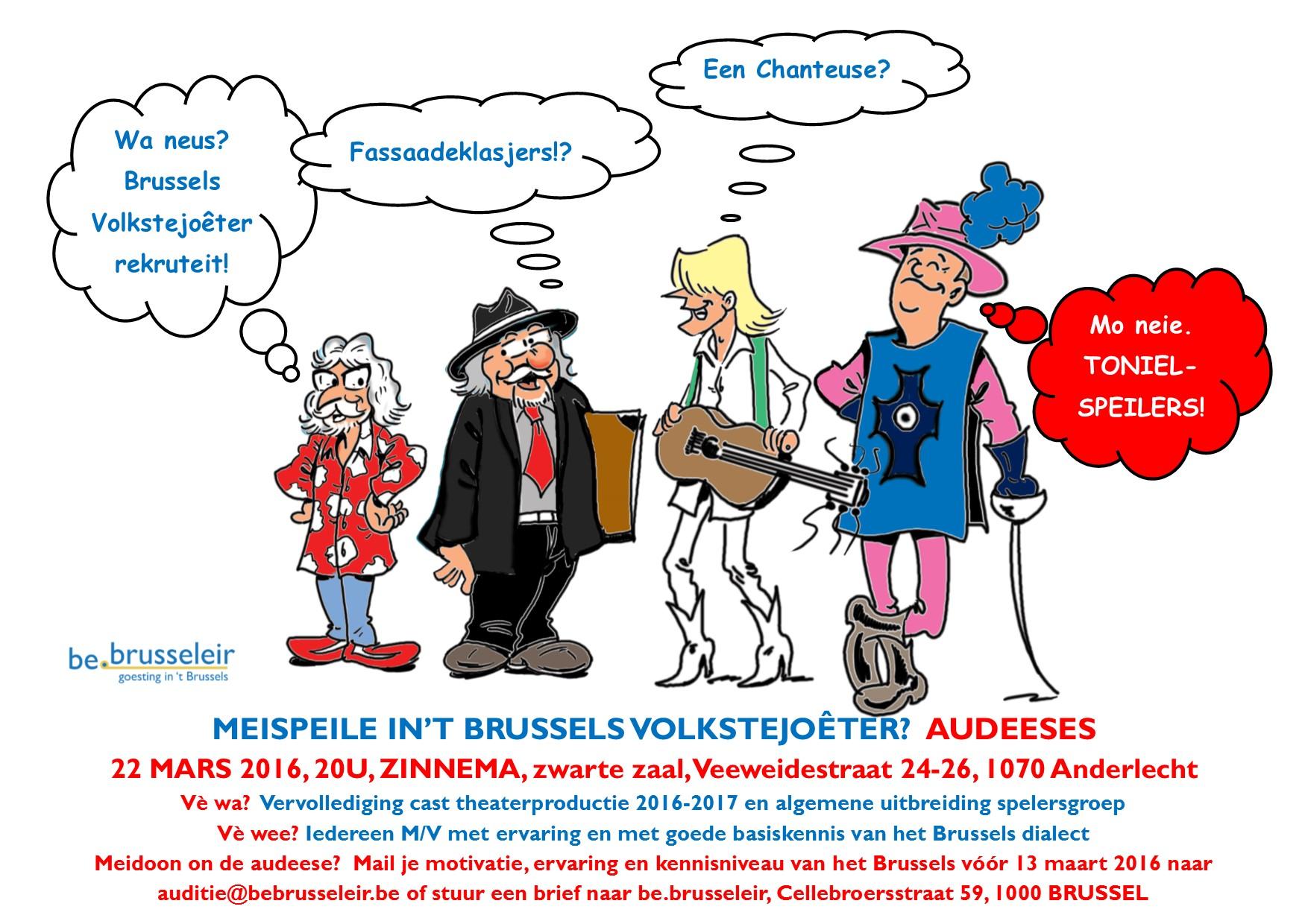 Audities Brussels Volkstejoêter