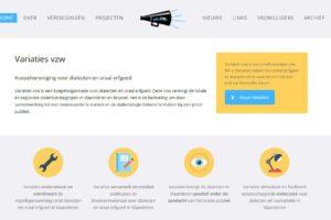 Nieuwe Website Voor Variaties Vzw