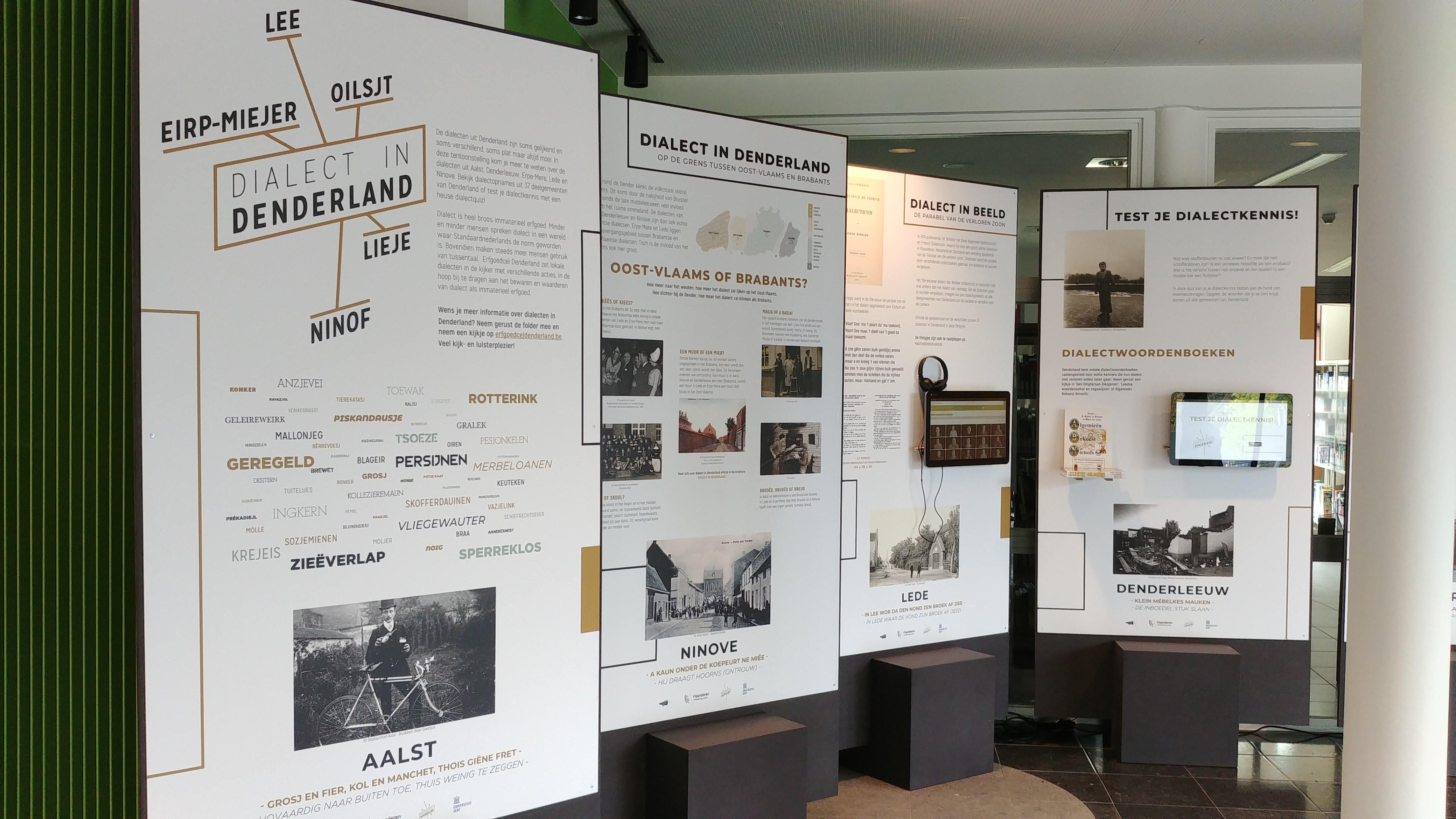 Dialect In Denderland – Een Rondreizende Tentoonstelling