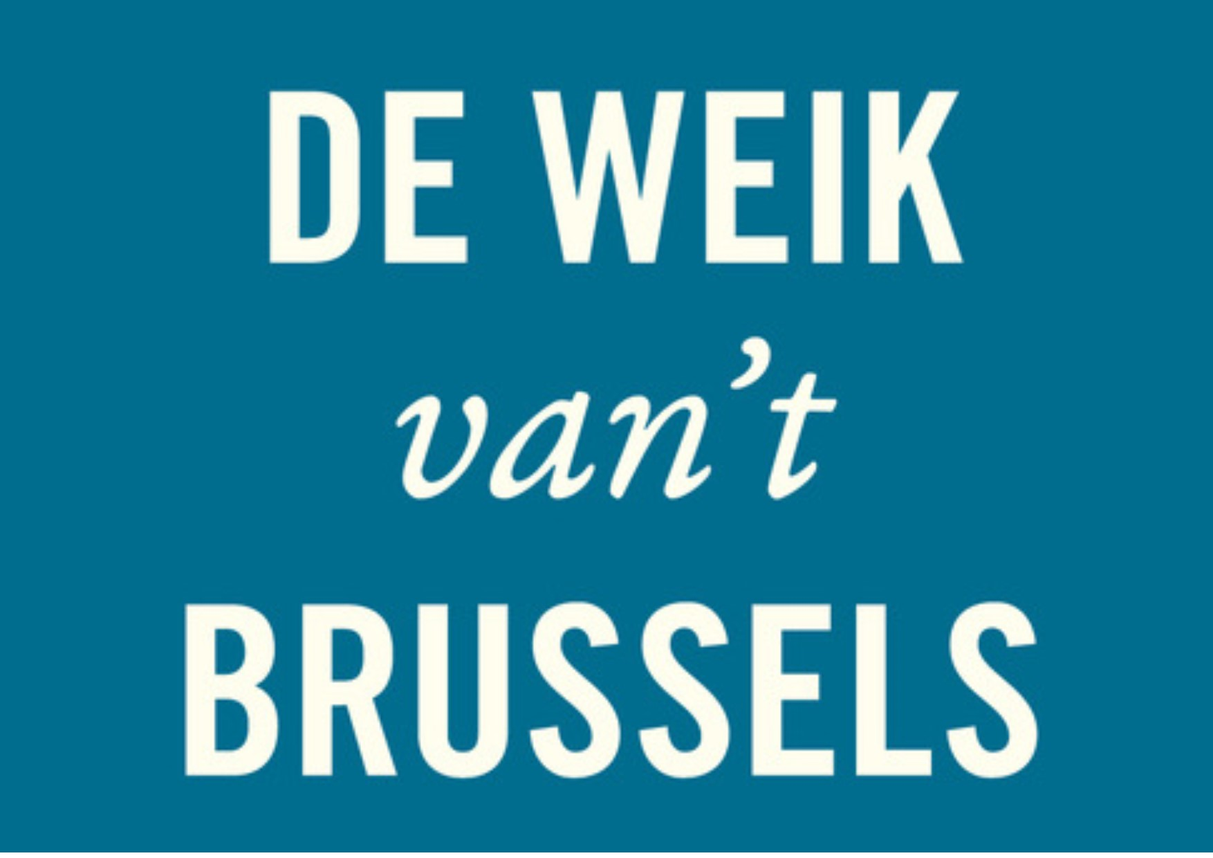 De Weik Van27t Brussels Logo